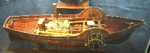 Model of Steam Boat